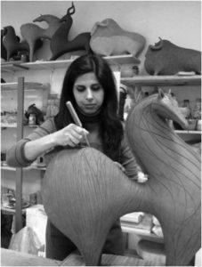 Athena Jahantigh, Iran & France