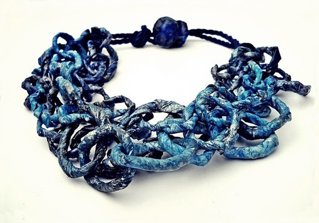 blue chain - necklace - chains collection