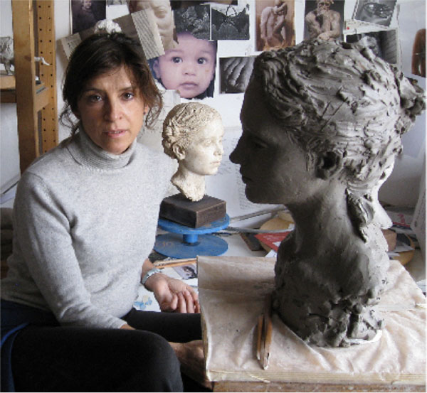 Suzie Zamit, Sculptor, Couch End, UK