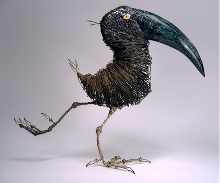 Thomas Hill Bound Wire Bird