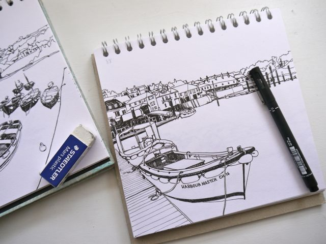 Salcombe sketchbooks