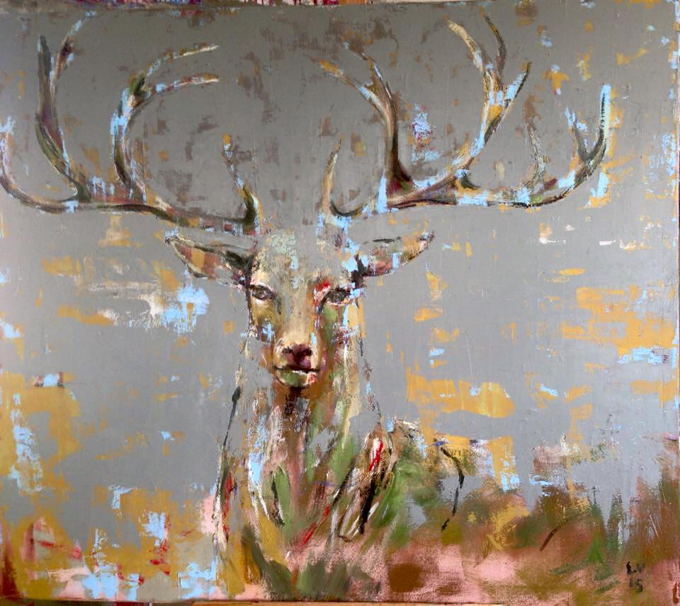 2_Listen carefully_2015_oil on canvas