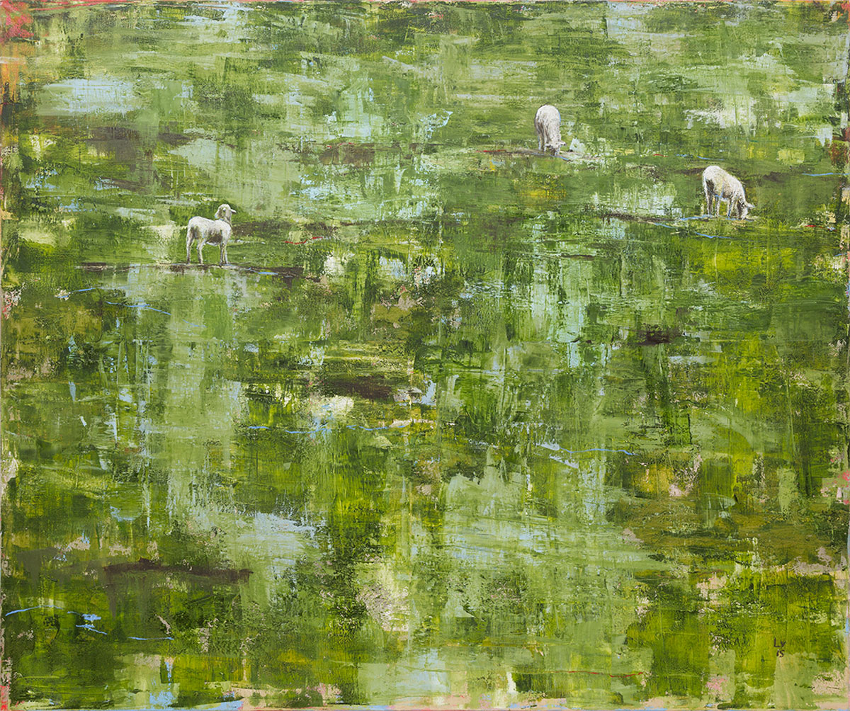 5_Lets play again in that field_2015_oil on cavas