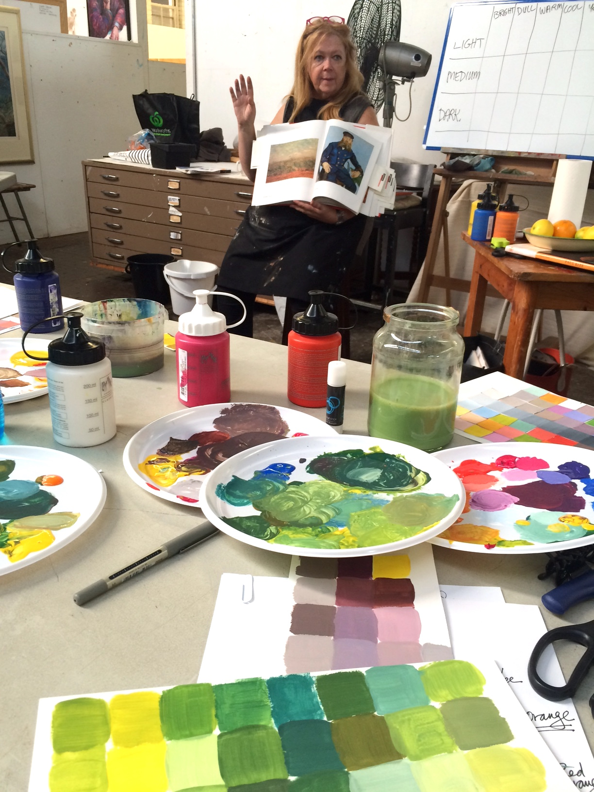 CHRISTINE WEBB COLOUR THEORY