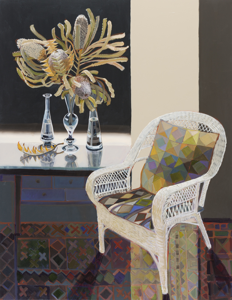 CHRISTINE WEBB Golden Summer 137x107 cm