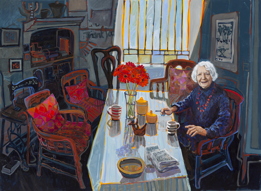 CHRISTINE WEBB Nancy's Table,152x111cm e
