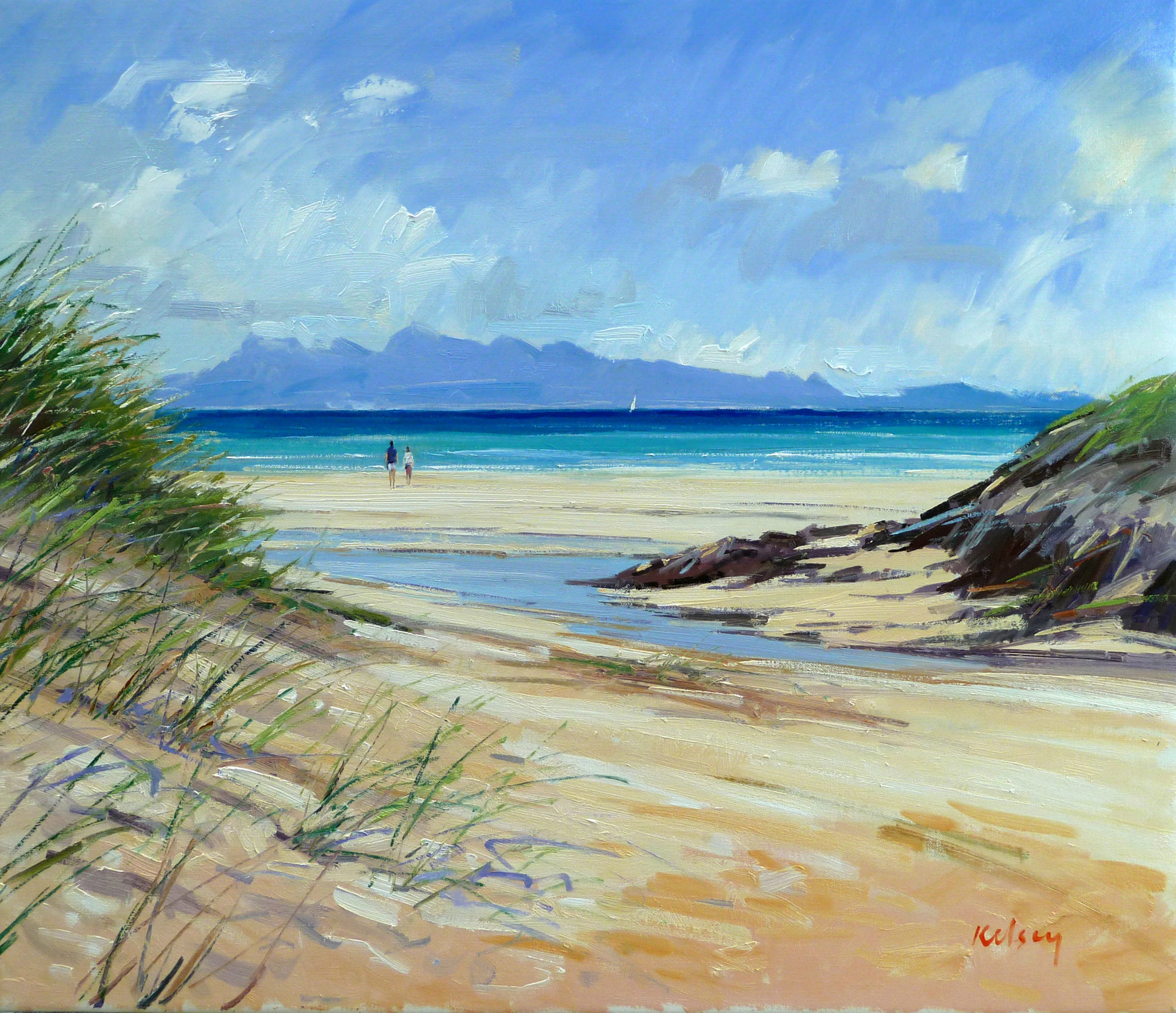 BEACH STREAM, ARISAIG