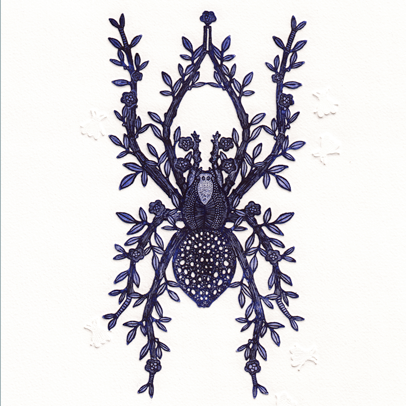 N°21 Etchings- Spider