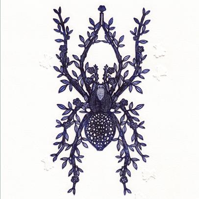 N°21 Etchings- Spider