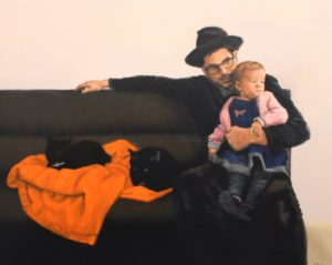 Horizon, 60x80cm, Oil on canvas