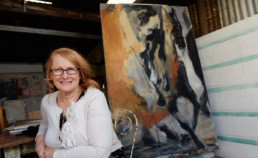 Susan McMinn, Bendigo, Australia My PhD research was around the horse in war during the Palestine Campaigns of WW1. After researching stories about the Australian war horses concerning their plight during this campaign in the WW1 Light Horse Soldiers diaries, particularly that of Ion Idriess', and various artworks including paintings by Australian War Artist George Lambert, I realised that I needed to go to Israel to look at and experience the Anzac trails and the landscape in which the horses travelled. Zoneone Arts brings Susan McMinn to you…