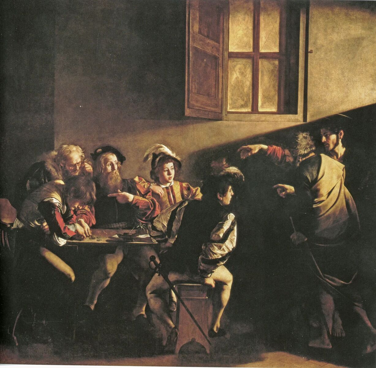 THE CALLING OF ST. MATTHEW_preview