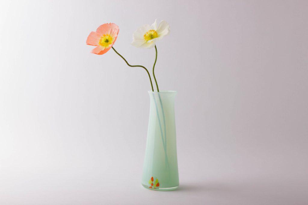 Mint Murrine vase Photo Credit Anna Fenech