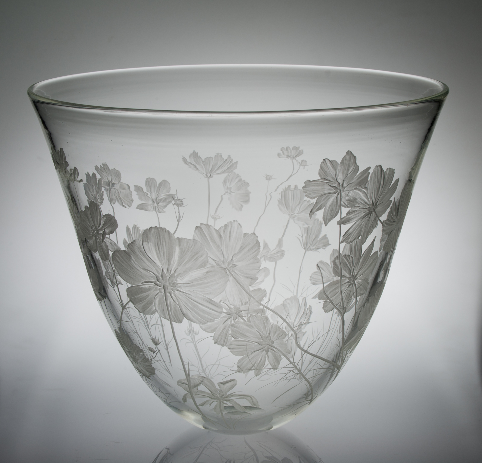Miki Kubo - engraved glass