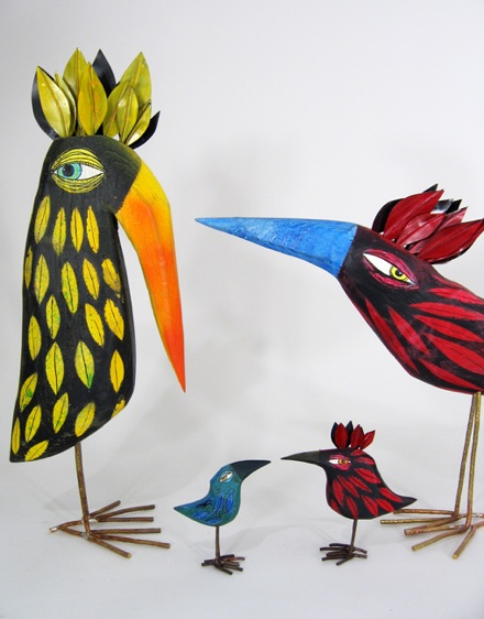 Thomas Hill Wooden Birds