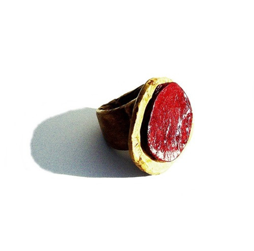 stones burgundy - ring - shaped collection