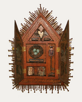 assemblage art shrine art