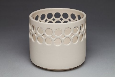 Cylindrical Bowl 8''