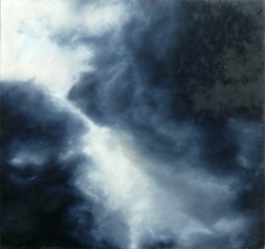 Ewa Mitera Bez tytyłu, olej na płótnie, 152,5x159cm, 2012