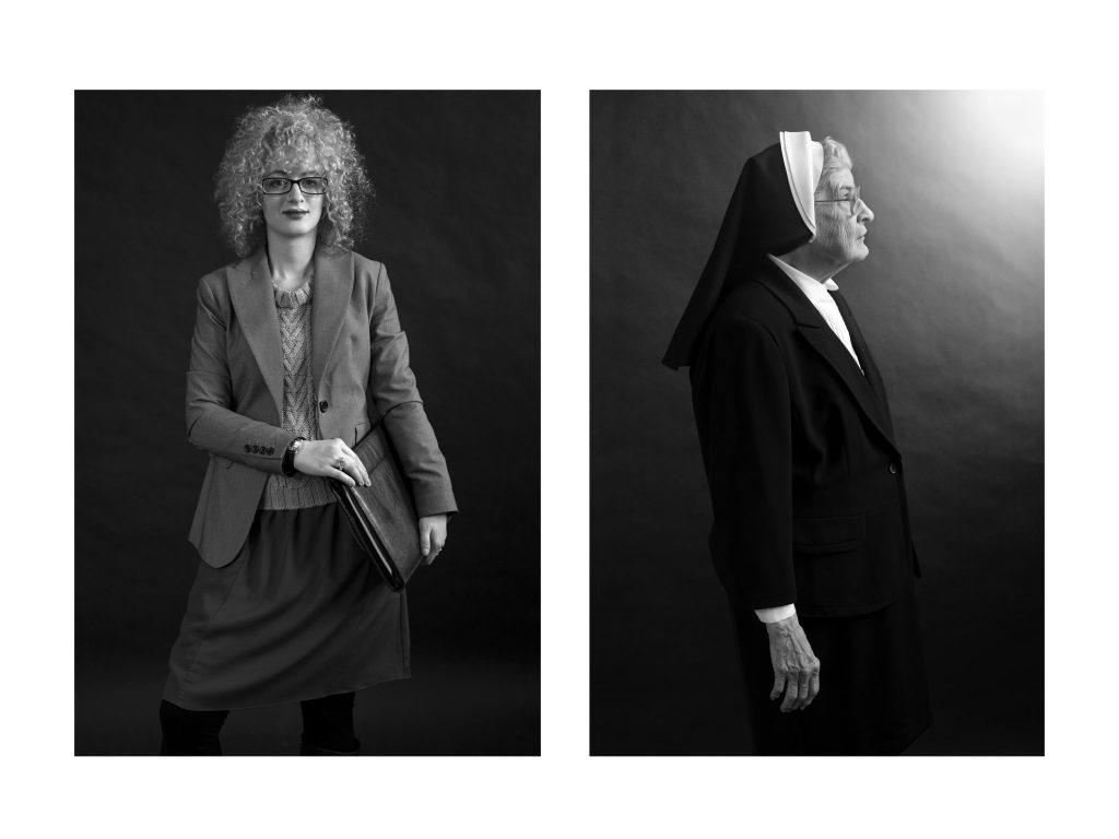Social Worker & Nun,