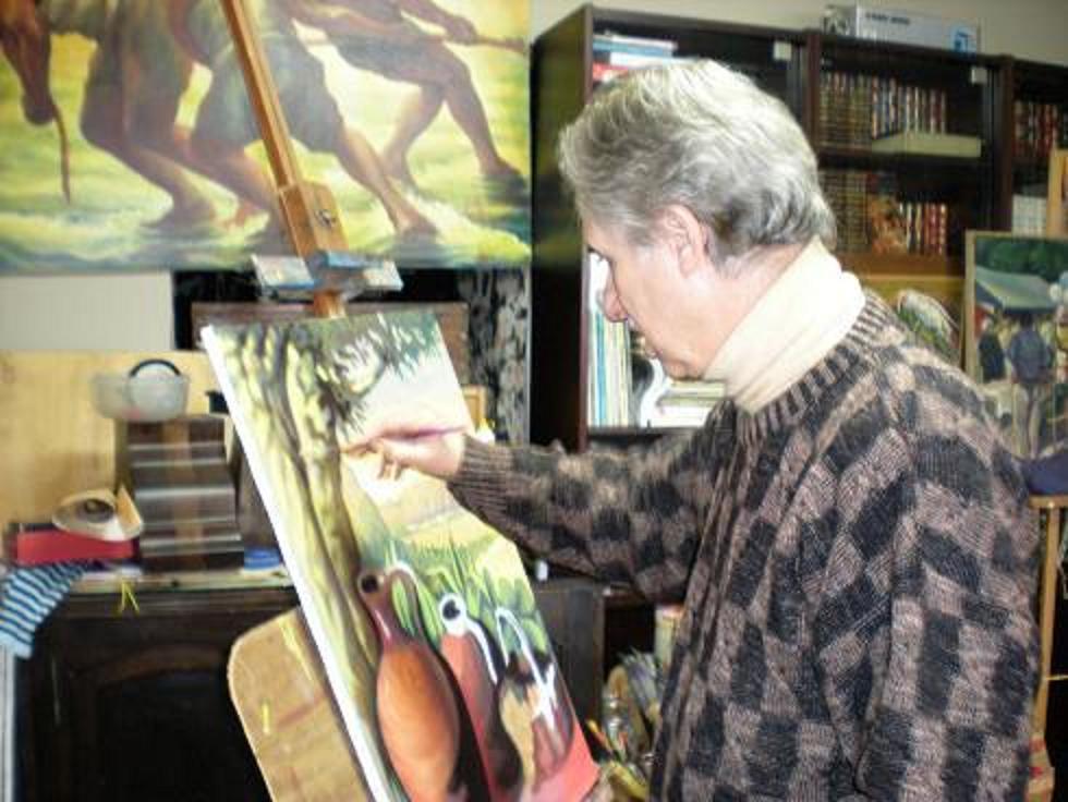 3 Lorenzo Chinnici in his Studios in Sicily