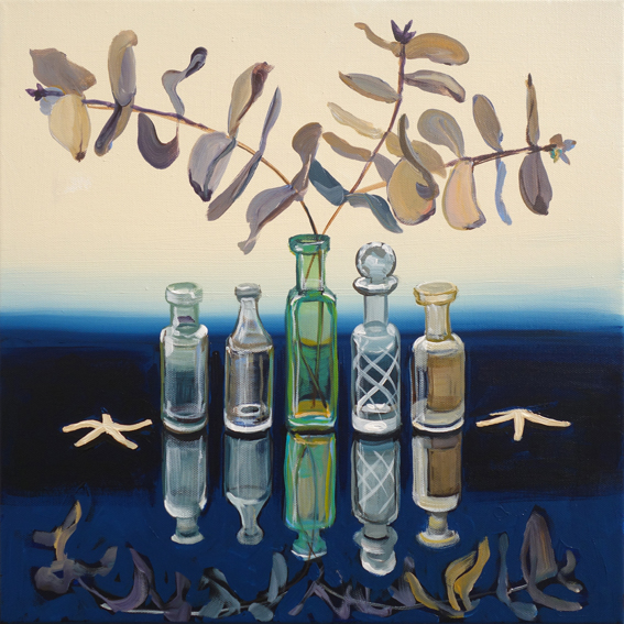 CHRISTINE WEBB Starfish Symmetry 40x40cm e
