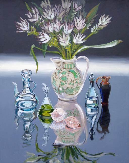 CHRISTINE WEBB Unrelated Memories, 120x80 cm, Acrylic on Canvas e