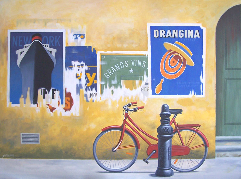 theRedbike92x122cm