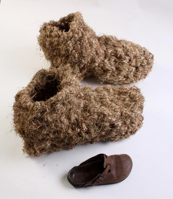 2 Grass boot replicas joanne B Kaar opt (1)