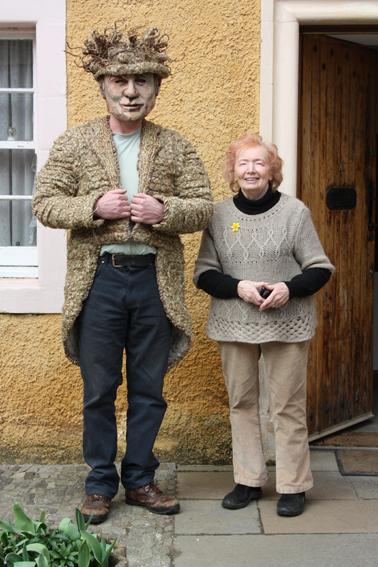 Joyce Laing and Joe Kaar at Art Extaordinary 1 opt