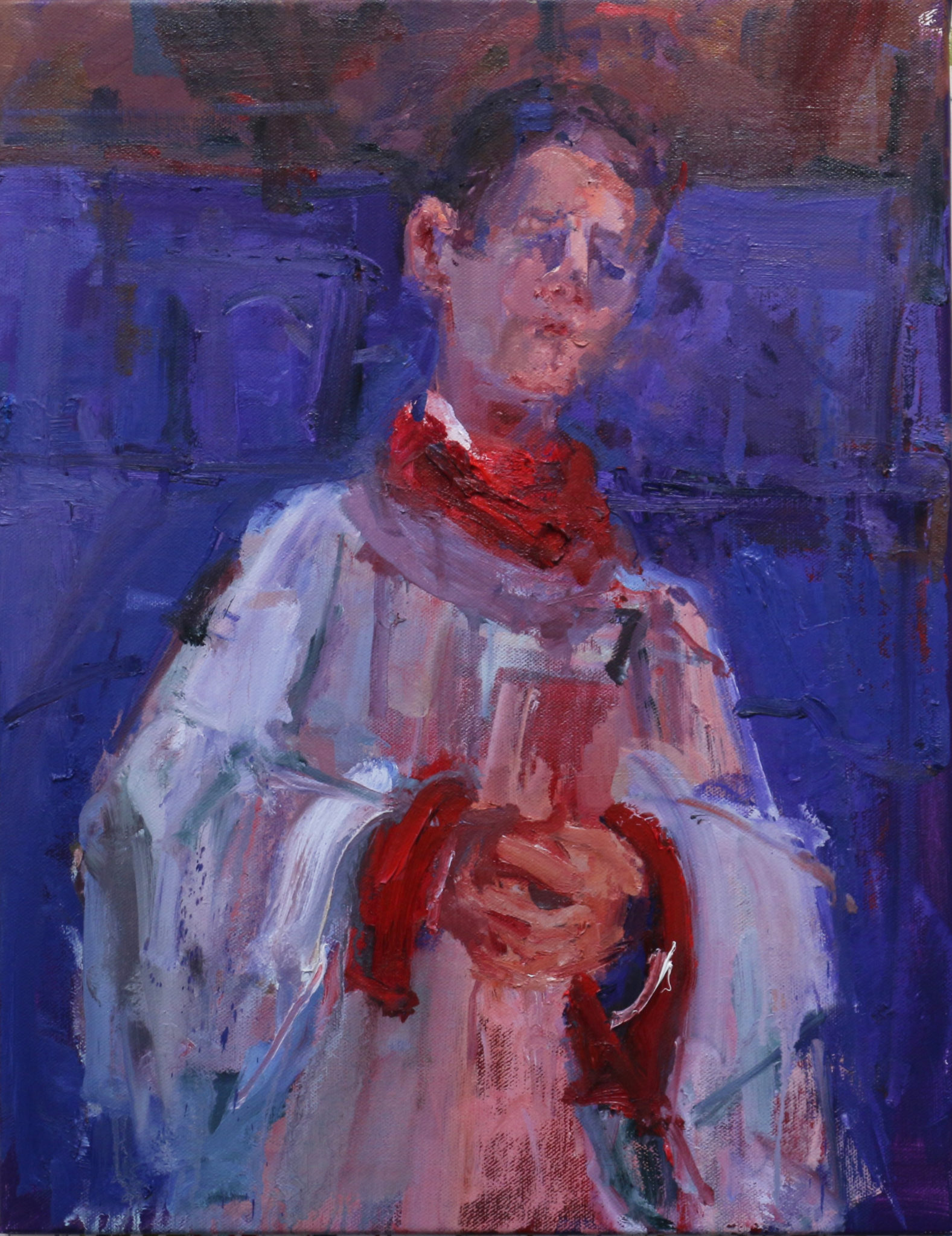 Choir Boy - Homage to Soutine 1