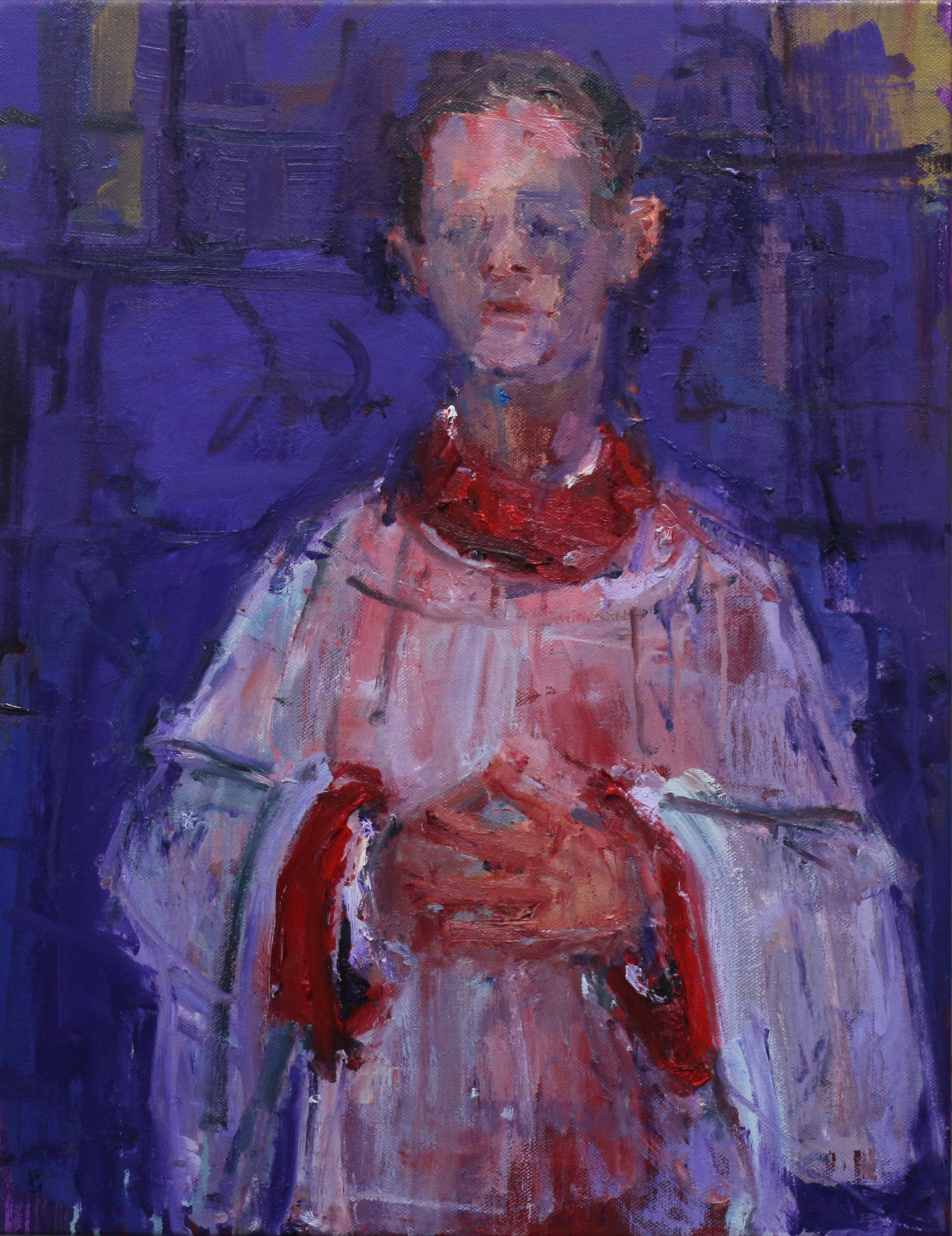 Choir Boy - Homage to Soutine 2