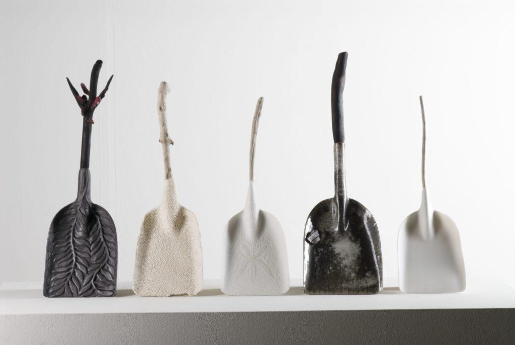 Helen Earl_Dustpans for Oceanic Oil Spills & Bushfires_Image Greg Piper