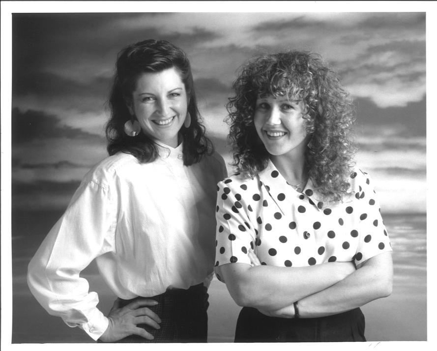 Deborah & Melinda 1990