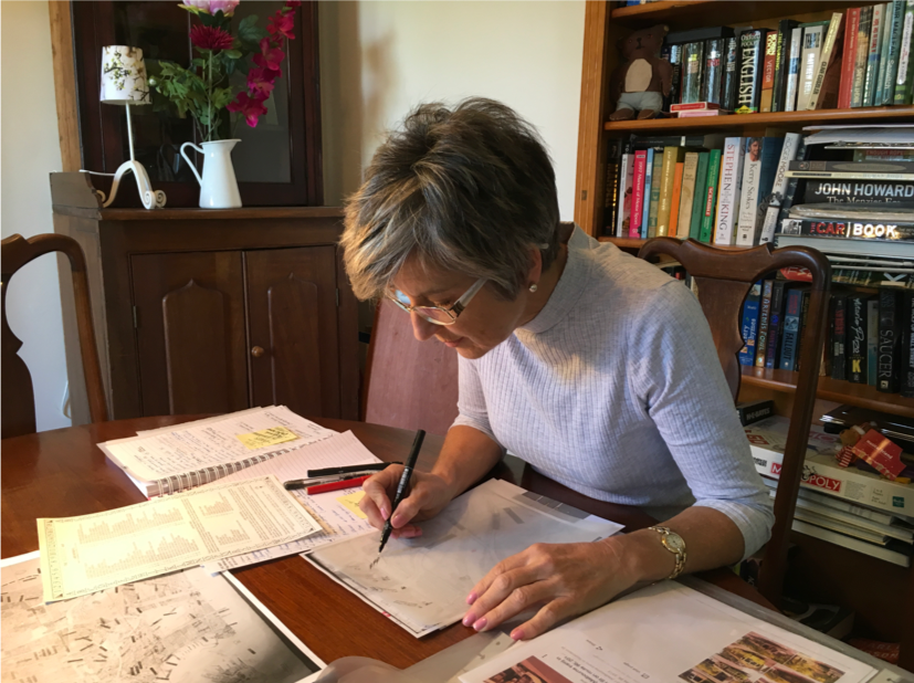 Deborah illustrating new map inclusions