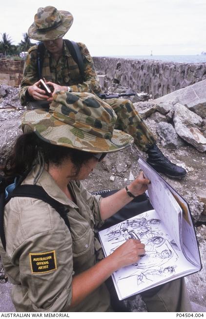 Aust war memorial Wendy Sharp