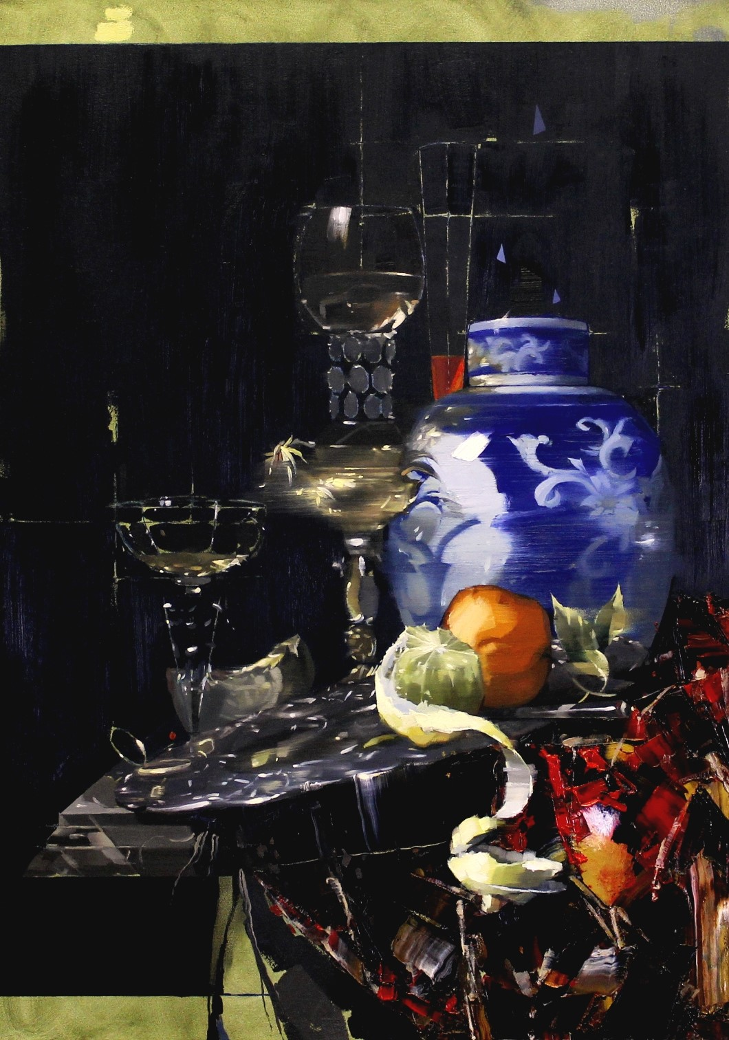 Still Life with Porcelain Jar - After Willem Calf. small file
